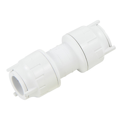 15mm Push fit Polypipe straight coupler OFIT015