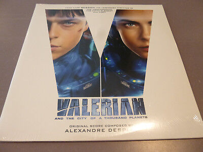 OST - Valerian And The City - 2LP Vinyl // Neu &OVP /// Alexandre Desplat
