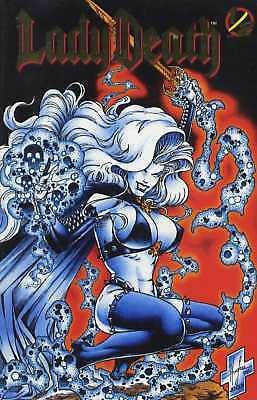 LADY DEATH Heft 1/2 GOLD LOGO Variant Edition