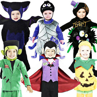 Toddler Halloween Age 1-4 Fancy Dress Party Childs Childrens Girls Boys Costume