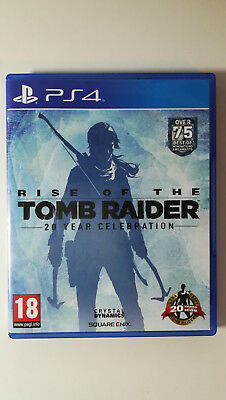 Rise Of The Tomb Raider - 20 Year Celebration (Sony PlayStation 4, 2016)