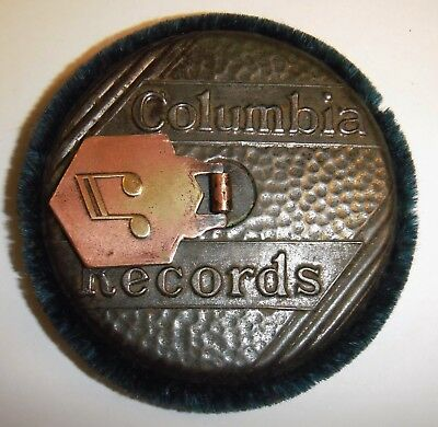Vintage Columbia Gramophone Records Cleaner Duster