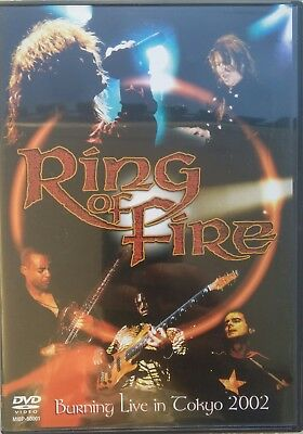Ring of Fire - Burning Live In Tokyo Japan DVD MIBP-50001 MacAlpine M. Boals NEW