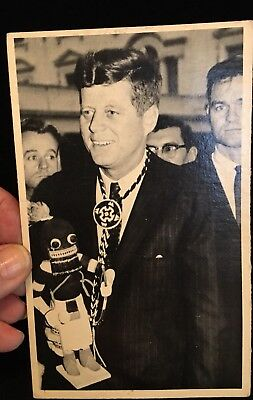 Old Black/White Pres Kennedy Photograph