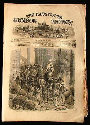 May 17 1862 Illustrated London News Prince of Wales in Egypt