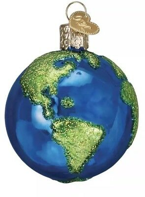 Planet Earth (22038) Old World Christmas Ornament