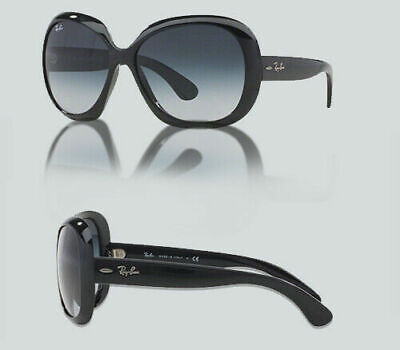 Authentic Ray Ban 0RB 4098 JACKIE OHH II 601/8G BLACK Sunglasses