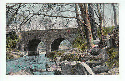 Linlathen Den And Well Dundee 1900 Valentines 32616 Old Postcard Unposted