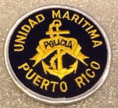 Puerto Rico State Police Maritime Unit Patch