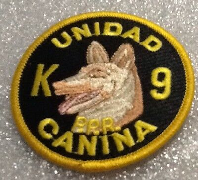 Puerto Rico State Police K-9 Unit Patch