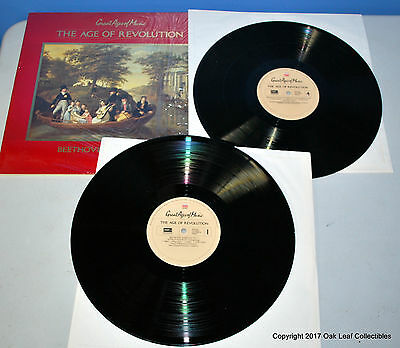 Great Ages of Music #3: The Age of Revolution 2 LP Record Set Time Life