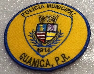 Puerto Rico Guanica Municipal Police Patch