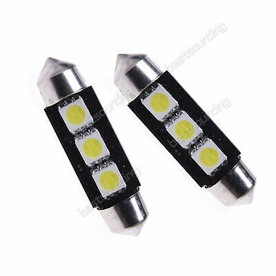 10x 39mm 5050 SMD LED Lampe Soffitte Canbus Standlicht Innenraumbeleuchtung Weiß