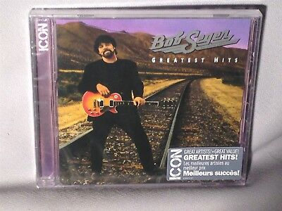 CD BOB SEGER Icon Greatest Hits NEW MINT SEALED