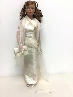 ROBERT TONNER DOLL with a GORGEOUS UNTAGGED CREAM HALTER GOWN