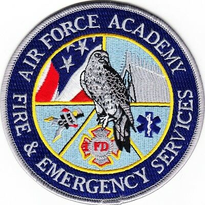 COLORADO  -  AIR  FORCE  ACADEMY    FIRE  &  EMERGENCY  SERVICES    Patch