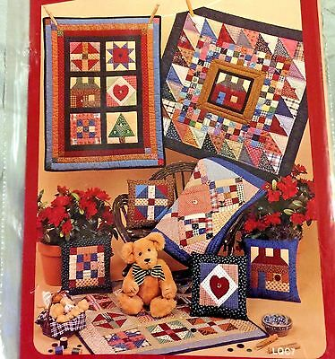 The Little Quilt SAMPLERS Not Miniature DOLLS or WALLHANGING PILLOWS Pattern