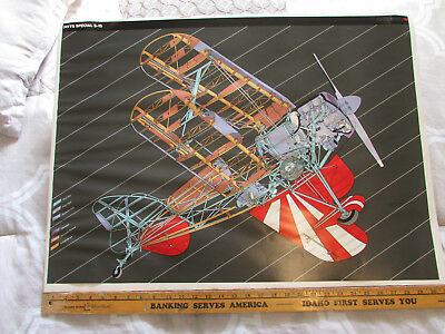 Pitts Special Biplane Race Racing Plane Acrobatics Reno Air Races 30X22 Poster