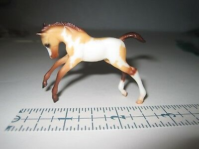 Breyer Reeves Stablemate 1999 Brown White Pony Mare Foal