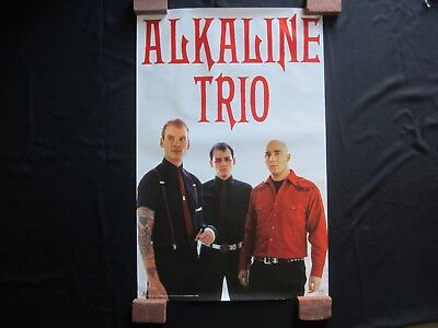 ALKALINE TRIO POSTER Photo PRINT 2006 Super RARE Punk UNDERGROUND Rock N Roll