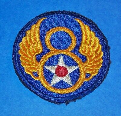 ORIGINAL CUT-EDGE WW2 8th AIR FORCE PATCH