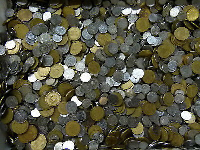 5 Lbs Of 50¢ 20¢ 10¢  Centavo Mexican Coin Mix