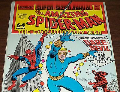 The Amazing Spider-Man Annual #22 with Daredevil from 1988 in Fine+ condition DM