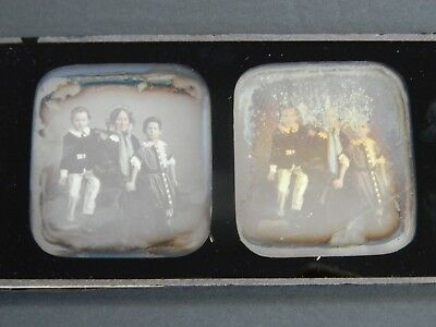 RARE FRENCH STEREOVIEW DAGUERREOTYPE by W.THOMPSON  PARIS