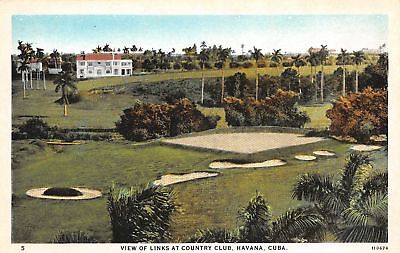 C09-3060, View Of The Links At Country Club, Havana, Cuba.