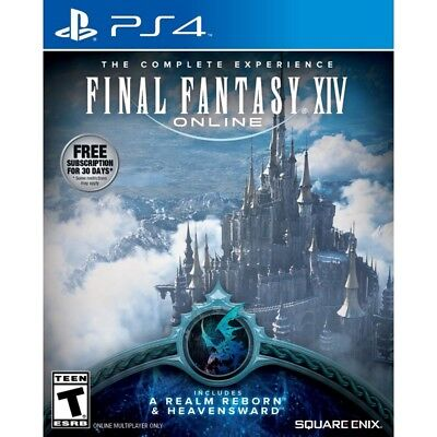 Final Fantasy XIV: The Complete Experience PS4 Playstation 4 Game