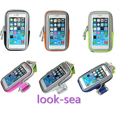 Multifunctional Outdoor Sports Armband Arm Package Cell Phone Bag 4.7''/ 5.7''