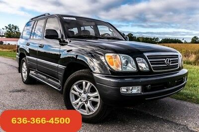 2003 Lexus LX LX 2003 Used 4.7L V8 32V Automatic 4WD SUV Moonroof leather loaded clean nav nice