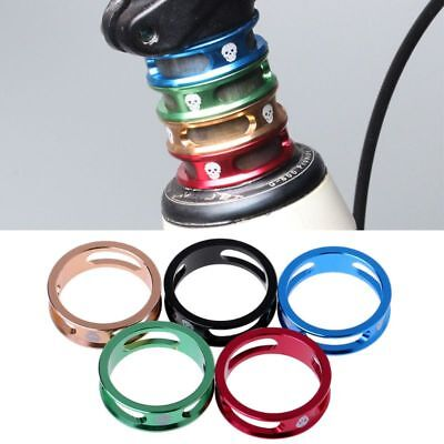 Bicycle Headset Washer Hollow Spacer 28.6mm Aluminum Alloy Front Fork Bike MTB