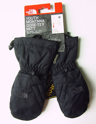New North Face Youth Montana Gore-Tex Mitts Ski Snow Kids Gloves Mittens M Med