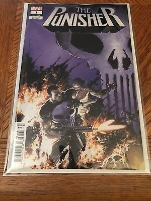 The Punisher #1 1 in 25 Clayton Crain Variant