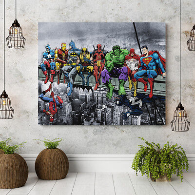 Marvel Hero Modern Painting Wall Art Canvas Picture Home Living Room Decoration