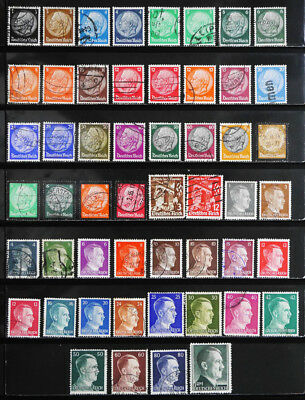 Germany: Classic Era-40's Stamp Collection