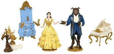 Disney Beauty and the Beast Enchanted 5-Piece Figurine Girls Play Set Toy