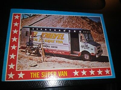 Evel Knievel 1974 Topps Card lot #1