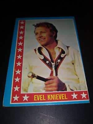 Evel Knievel 1974 Topps Card lot #3
