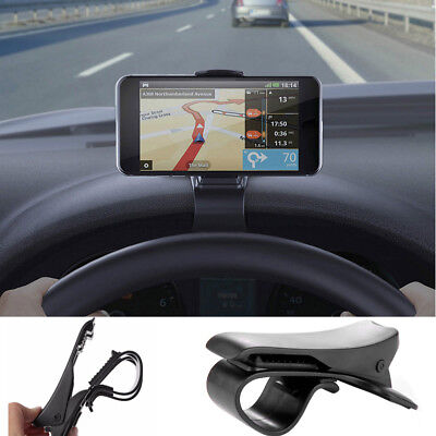 Car HUD Dashboard Mount Holder Stand Clip for Universal Mobile Cell Phone GPS
