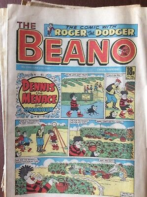 Box L The Beano Comic No 2345 June 27th 1987 Biffo