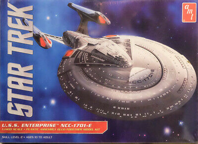 Star Trek U.S.S. Enterprise NCC-1701-E 1:1400 AMT Model Kit Bausatz AMT 853 USS