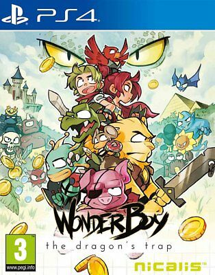 Wonder Boy: The Dragon's Trap (PS4)  NEW AND SEALED - IN STOCK - QUICK DISPATCH