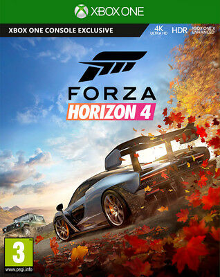 Forza Horizon 4 (Xbox One)  BRAND NEW AND SEALED - IN STOCK - QUICK DISPATCH