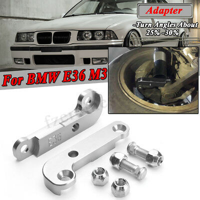 For BMW E36 M3 about 25%-30% Drift Lock Kit Adapter Increasing Turn Angles