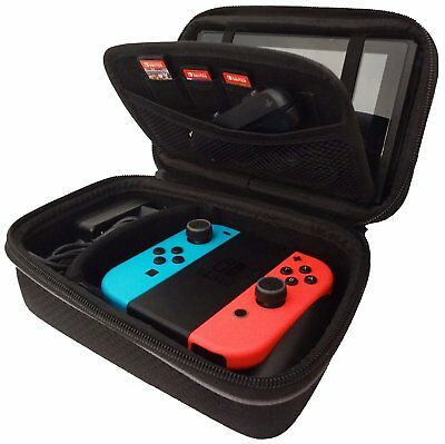 Subsonic Carry Case for Nintendo Switch - Protective Hard Portable Travel Carry