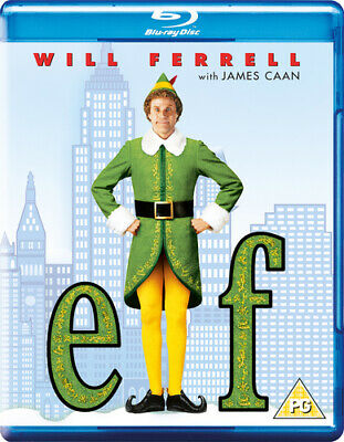 Elf Blu-Ray (2018) Will Ferrell, Favreau (DIR) cert PG ***NEW*** Amazing Value