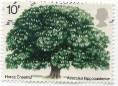 GB Stamps SG949. 1974 Used Set British Trees (2nd issue)