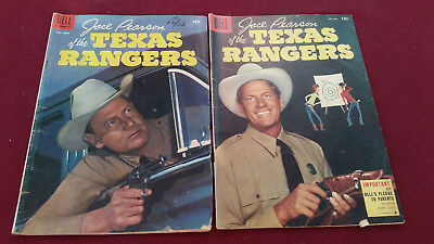 Jace Pearson of the Texas Rangers Dell Issues Four Color 648 No.9 Good